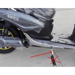 PLASTICA FRONTALE DEL FANALE - bici elettrica scooter sky II tipo z-tech