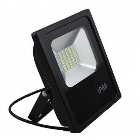 Faro eco black 50w led bianco 4000k 4500k neutro pari a for Led esterno 50w