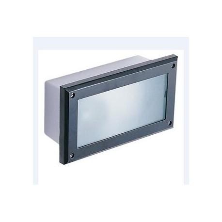 Af3261 lampada incasso applique plafoniera parete muro esterno interno con attacco e27 led - Applique led esterno ...
