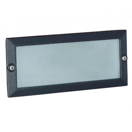 Af3041 lampada incasso applique plafoniera parete muro esterno interno con attacco e27 led - Applique led esterno ...