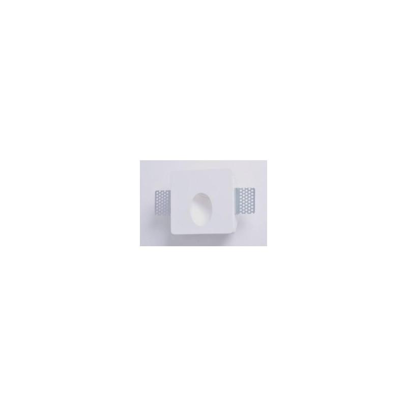 Mw9430 faretto segnapassi in gesso muro da parete a scomparsa x lampade led design - Lampade a muro design ...