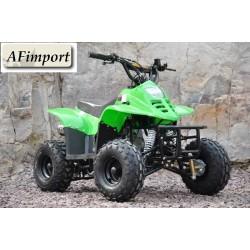 "QUAD ATV 110 BAMBOO RUOTE 6"" MINIATV MINIQUAD 4 TEMPI 110cc"