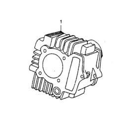 CILINDRO YX 125cc - blocco motore pit bike krz 125 kayo 4 tempi