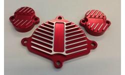 TAPPI CNC TESTATA ROSSO RACING PER MOTORE YX 160