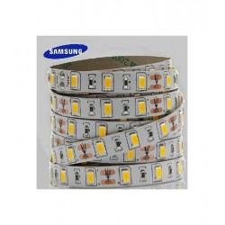 strip led 5630 samsung 12V 24V ip20 striscia bianco freddo caldo neutro