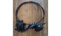 kit freno posteriore quad kayo au180