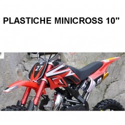 "CARENE MINICROSS SPIDER - 10"" minimoto cross plastiche"