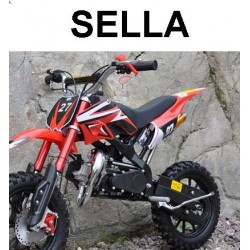 "SELLA MINICROSS 10"" SPIDER - minimoto cross"